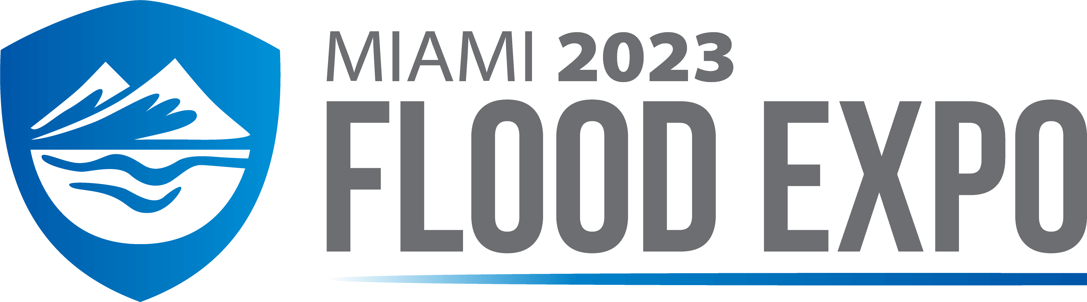 The The Flood Expo Miami logo